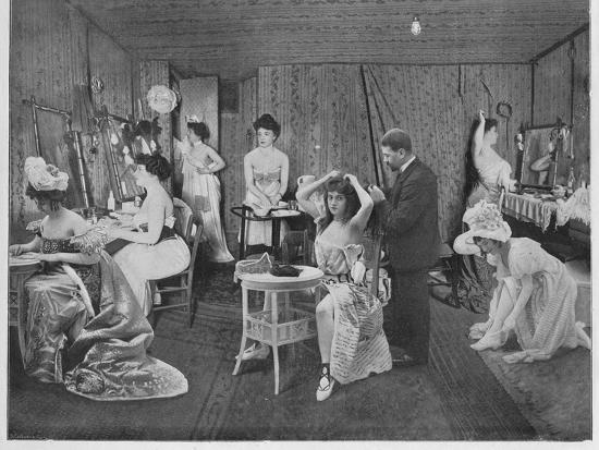 'L'Habillage Dans Les Loges', 1900-Unknown-Photographic Print