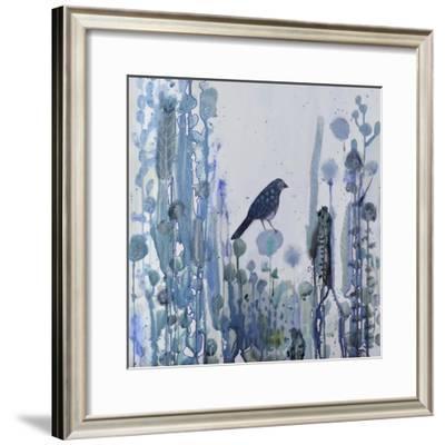 L'heure Bleue-Sylvie Demers-Framed Giclee Print