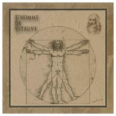 L'Homme de Vitruve--Art Print