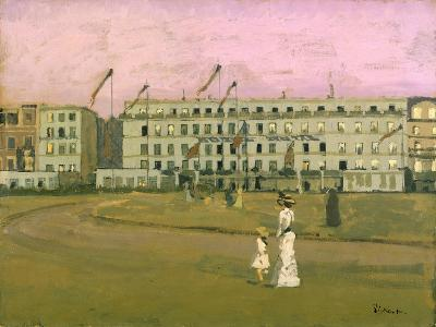 L'Hotel Royal, Dieppe-Walter Richard Sickert-Giclee Print
