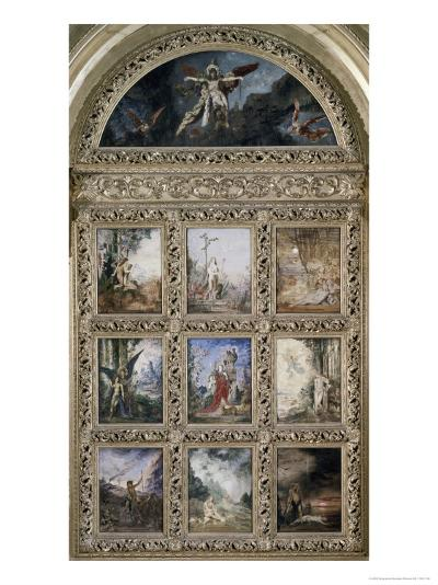L'Humanite-Gustave Moreau-Giclee Print