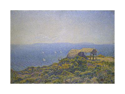 L'Ile Du Levant, Vu Du Cap Benat-Theo van Rysselberghe-Giclee Print