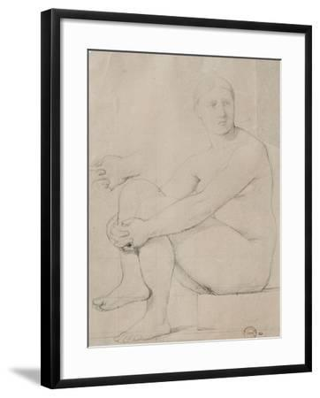 L'Iliade-Jean-Auguste-Dominique Ingres-Framed Giclee Print