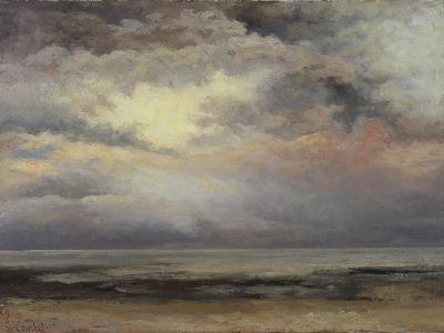 L'Immensite, c.1869-Gustave Courbet-Giclee Print