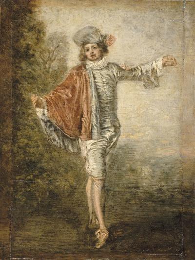 L'Indifférent-Jean Antoine Watteau-Giclee Print