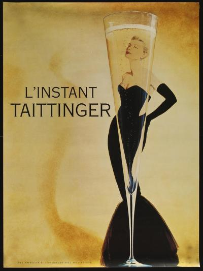 L'instant Taittinger-Vintage Apple Collection-Giclee Print