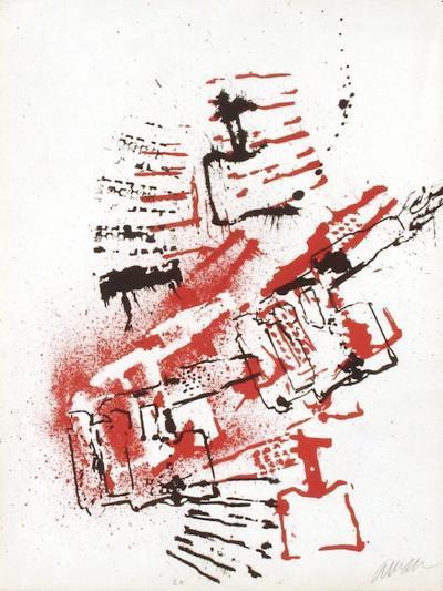 L'Interieur des Choses - la Lampe a Souder-Fernandez Arman-Limited Edition