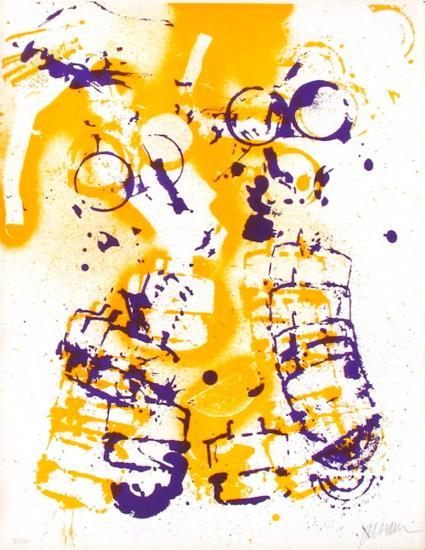 L'Interieur des Choses - le Masque a Gaz-Fernandez Arman-Limited Edition