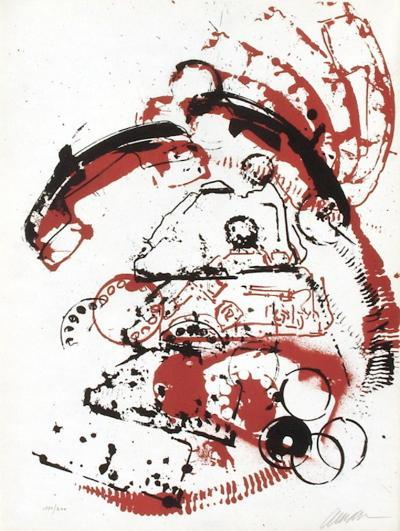 L'Interieur des Choses - le Telephone-Fernandez Arman-Limited Edition