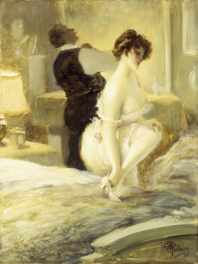 L'Intimite, 1906-Albert Guillaume-Giclee Print
