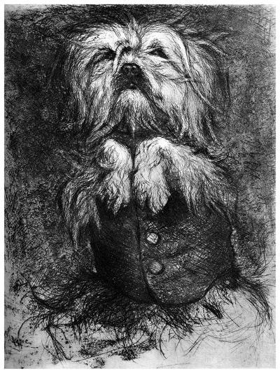 L'Intrigant, C1859-1889-Ludovic Lepic-Giclee Print