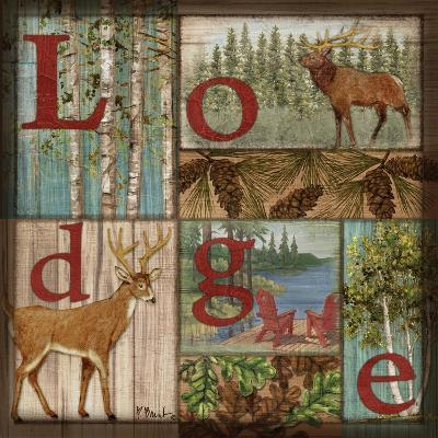 L is for Lodge-Paul Brent-Art Print