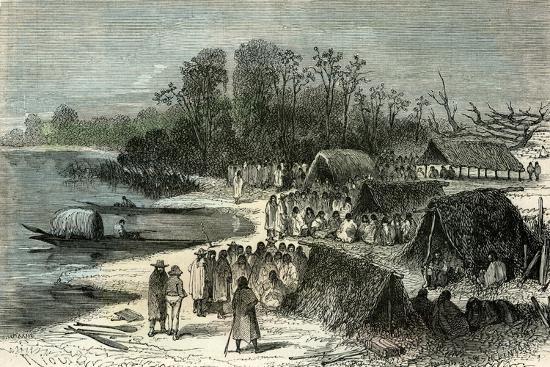 L'Isle Santa-Rosa 1869, Peru--Giclee Print