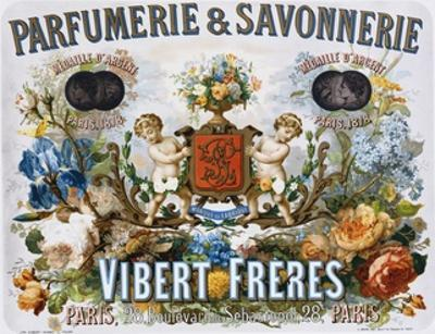 Parfumerie and Savonnerie - Vibert Freres Poster by L. Marx