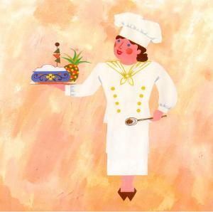 Chef Patronne by L. Morales