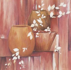 Pots and White Branches II by L. Morales