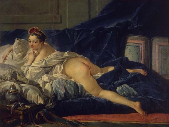 L'Odalisque-Francois Boucher-Giclee Print
