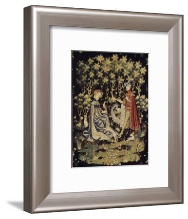 L'Offrande du coeur--Framed Giclee Print