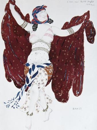 Costume Design for the Ballet Cléopatre, 1909 by L?on Bakst