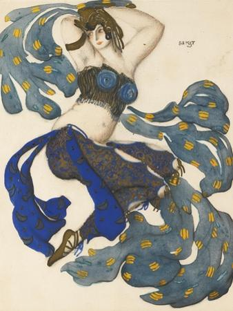 Odalisque, Costume Design for the Ballet Sheherazade by N. Rimsky-Korsakov by L?on Bakst
