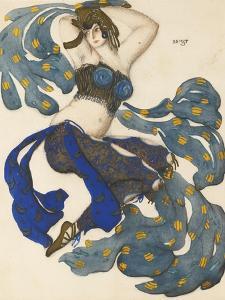Odalisque, Costume Design for the Ballet Sheherazade by N. Rimsky-Korsakov by L?on Bakst