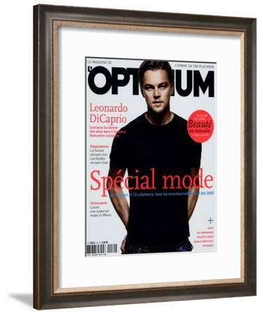 L'Optimum, February 2005 - Leonardo Dicaprio-Tom Munro-Framed Art Print