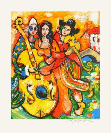 L'orchestre à la contrebasse-Raya Sorkine-Premium Edition