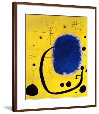 L'Oro dell' Azzurro-Joan Miro-Framed Art Print