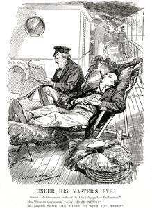 Winston Churchill - Punch Cartoon by L Raven Hill
