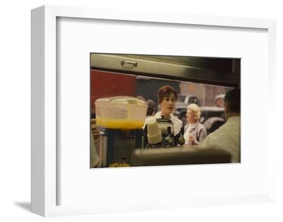 L&S Cigar Store, New York, New York, 1960-Walter Sanders-Framed Photographic Print