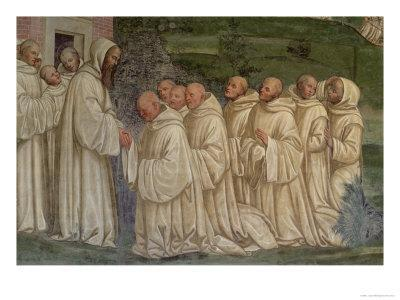 Benedictine Monks, from the Life of St. Benedict