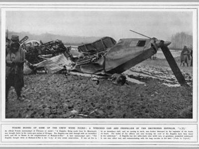 L77 Zeppelin Destroyed