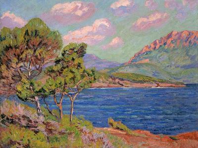 La Baie D'Agay, Cote D'Azur, C. 1910-Jean-Baptiste Armand Guillaumin-Giclee Print