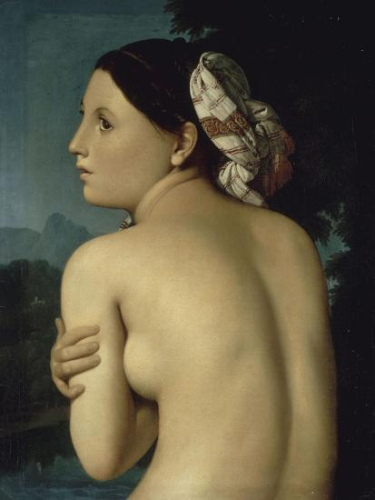 La Baigneuse-Jean-Auguste-Dominique Ingres-Giclee Print