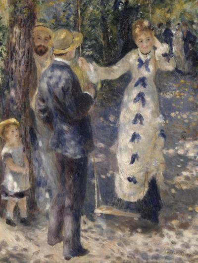 La balançoire-Pierre-Auguste Renoir-Giclee Print
