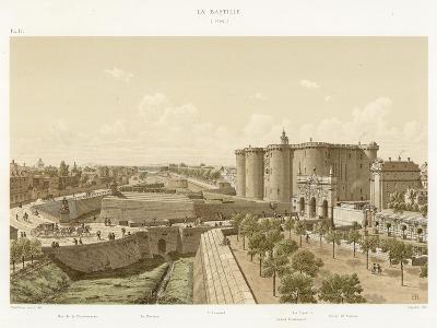 La Bastille, 1740--Giclee Print