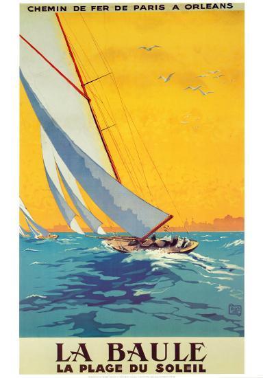 La Baule-Alo (Charles-Jean Hallo)-Art Print