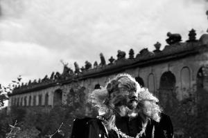 La Belle and la Bete by JeanCocteau with Jean Marais, 1946 (b/w photo)