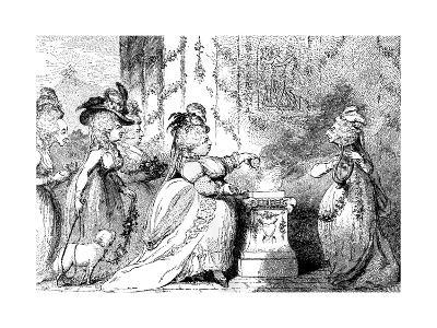 La Belle Assemblee, 1787-James Gillray-Giclee Print