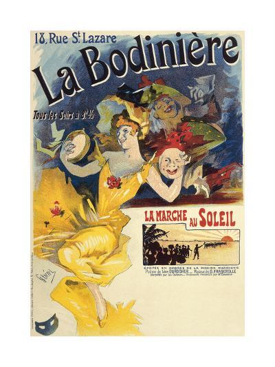La Bodiniere, Poster by Jules Cheret--Giclee Print