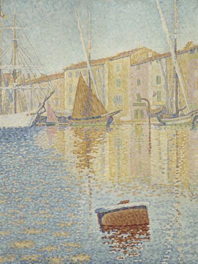 La Bouée rouge, Saint-Tropez-Paul Signac-Giclee Print