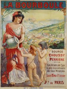 La Bourboule Poster