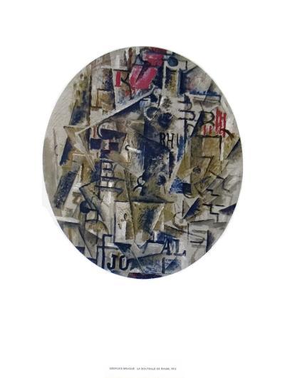 La Bouteille De Rhum-Georges Braque-Collectable Print
