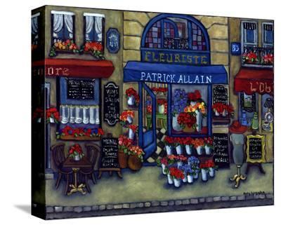 La Boutique Jolie Fleur--Stretched Canvas Print