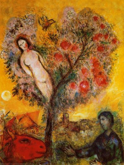 La Branche-Marc Chagall-Art Print