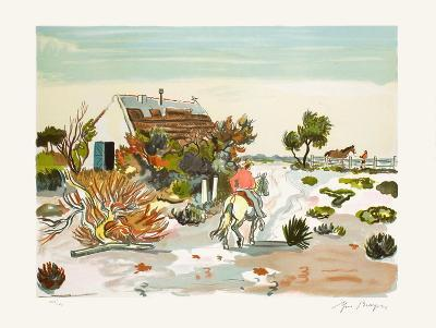 La Cabane Gardiane-Yves Brayer-Limited Edition