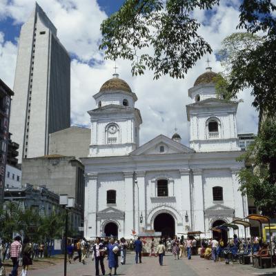La Candalaria Church, Medellin, Colombia--Photographic Print