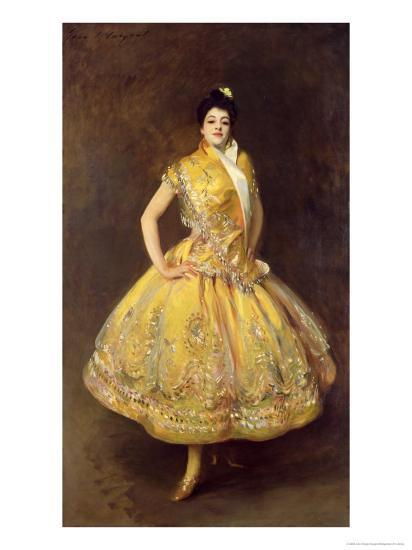 La Carmencita, 1890-John Singer Sargent-Giclee Print