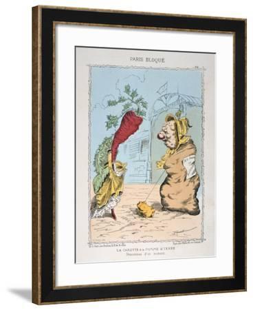 La Carotte Et La Pomme De Terre, 1870-1871--Framed Giclee Print