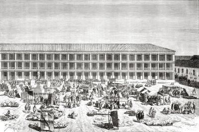 La Casa De Los Portales--Giclee Print